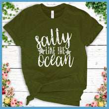 Load image into Gallery viewer, Salty Like The Ocean T-Shirt