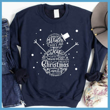 Load image into Gallery viewer, Snowman Christmas Collage Sweatshirt
