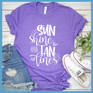 Sun Shine And Tan Lines T-Shirt