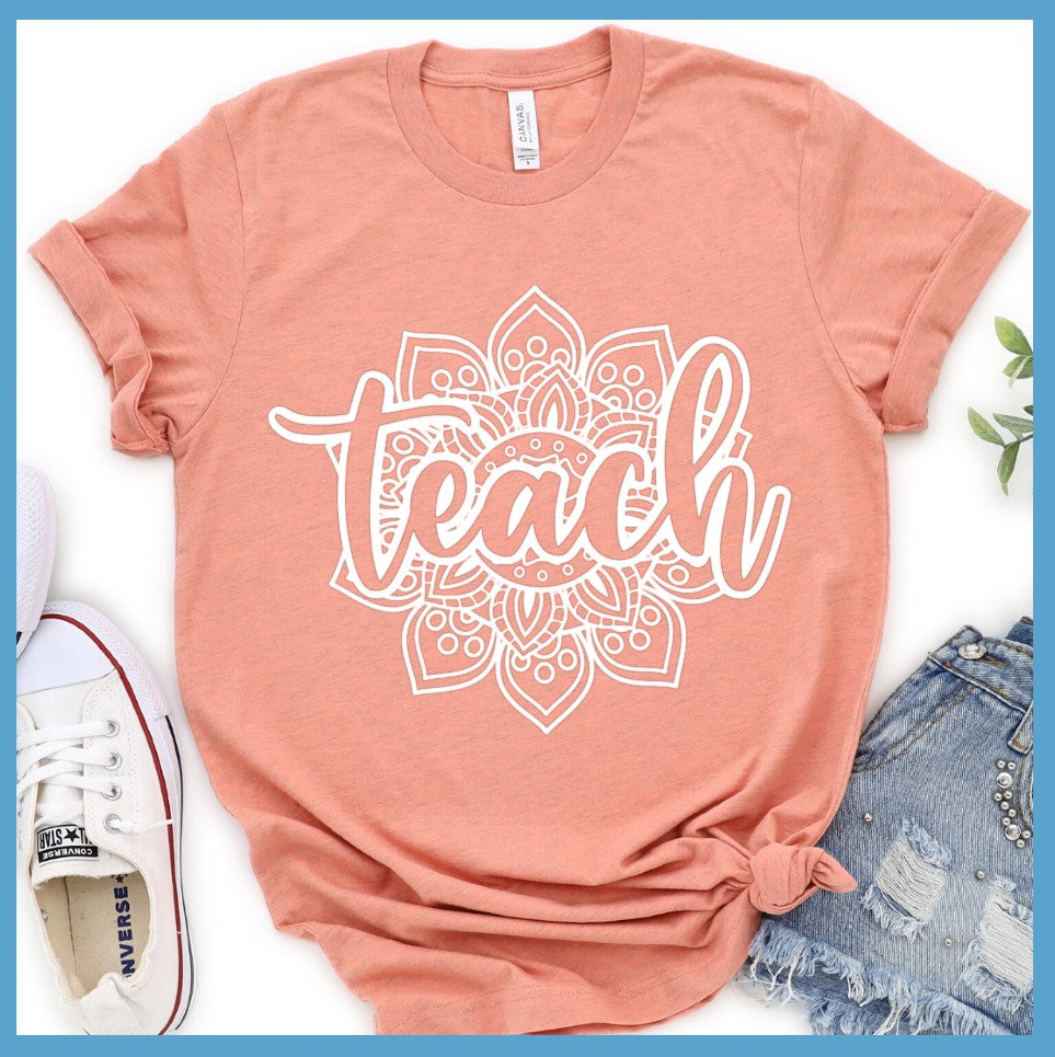 Teach Mandala T-Shirt