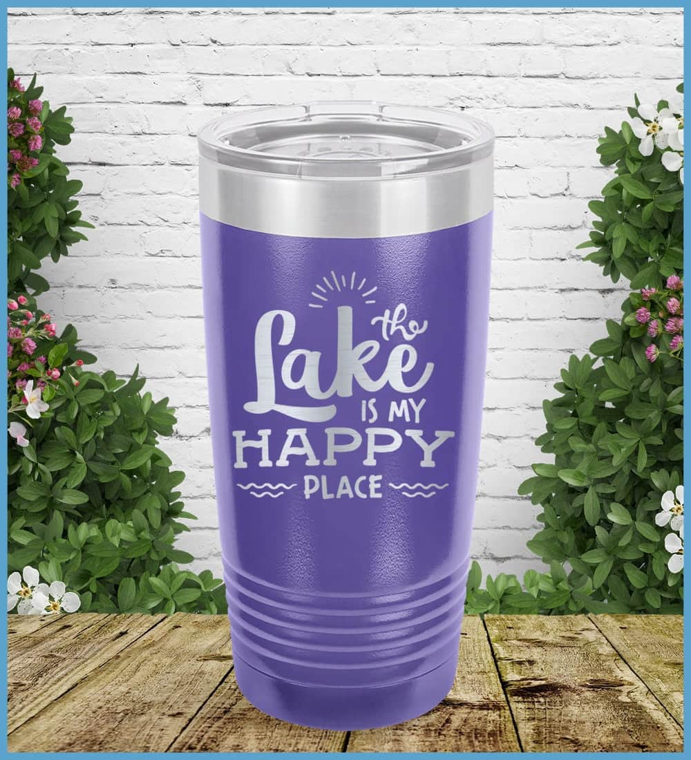 The Lake Is My Happy Place Tumbler