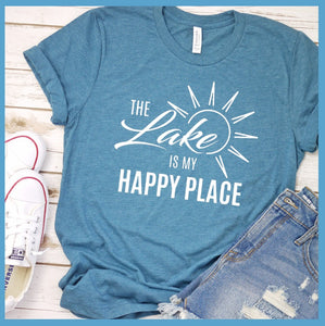 The Lake Is My Happy Place Version 3 T-Shirt