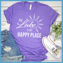 Load image into Gallery viewer, The Lake Is My Happy Place Version 3 T-Shirt