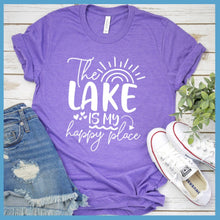 Load image into Gallery viewer, The Lake Is My Happy Place Version 4 T-Shirt