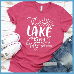 The Lake Is My Happy Place Version 4 T-Shirt