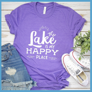 The Lake Is My Happy Place T-Shirt