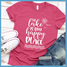Load image into Gallery viewer, The Lake Is My Happy Place Version 2  T-Shirt