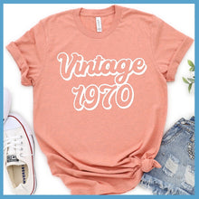 Load image into Gallery viewer, Vintage 1970 T-Shirt