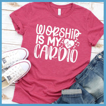 Load image into Gallery viewer, Worship Is My Cardio T-Shirt
