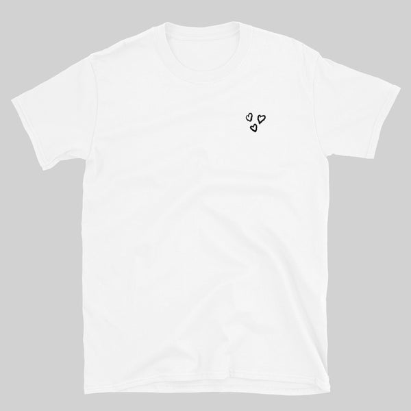 """ THE EYE "" TEE / WHITE / BY WASTED YOUTH"