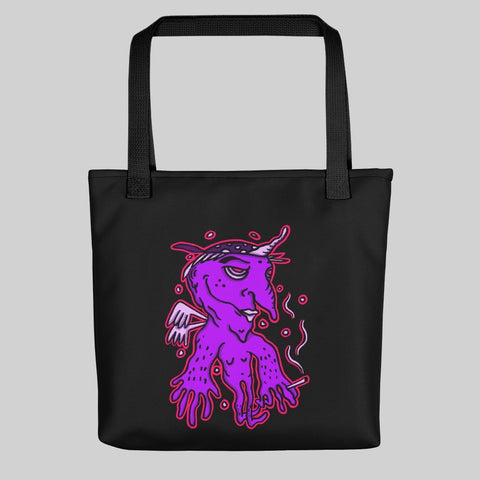 """ YYANGG "" TOTE BAG / BLACK / 0 EFFFORT"