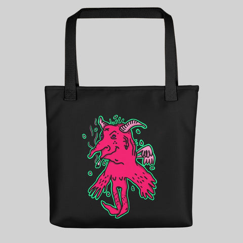 """ YYINGG "" TOTE BAG / BLACK / 0 EFFFORT"