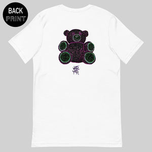 """ TEDDY "" TEE / WHITE / BY WASTED YOUTH"