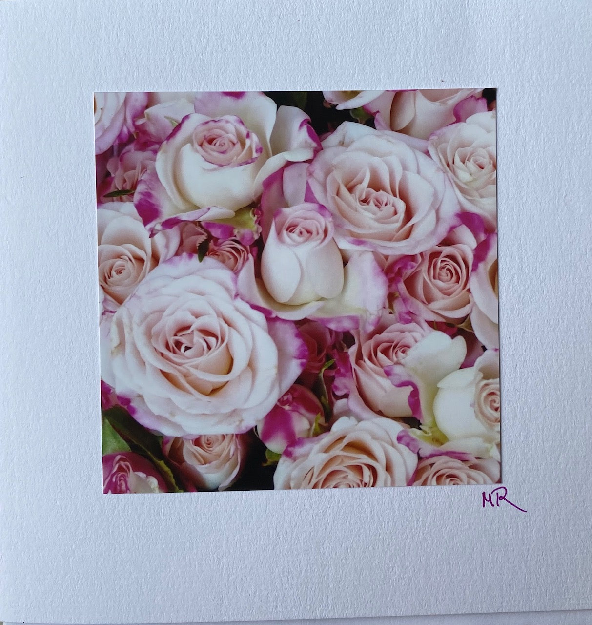Blank Gift Card - Soft Spray Roses