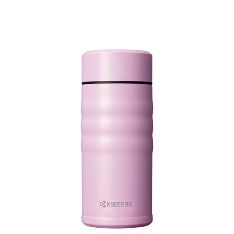 KYOCERA - TWIST TOP - Thermo Trinkflasche pink (350 ml)