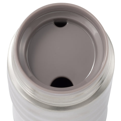 KYOCERA - TWIST TOP - Thermo Trinkflasche perlweiß (500 ml)