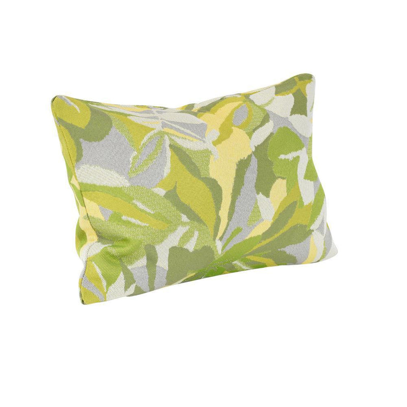 Monkey Patio Dewey Green Lumbar Outdoor Accent Throw Pillow