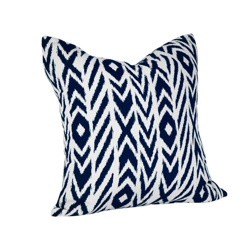 Monkey Patio Fire Island Midnight Square Outdoor Accent Lounge Throw Pillow