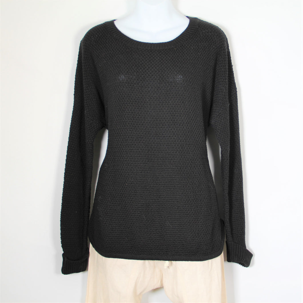 Tops- Cotton Long Sleeve -Black