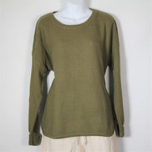 Load image into Gallery viewer, Tops- Cotton Long Sleeve -Khaki