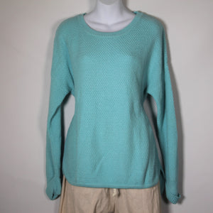 Tops- Cotton Long Sleeve -Turquoise