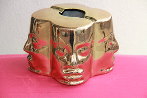 Gold 4 Face - Four Face Metal - Ashtray