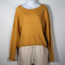 Load image into Gallery viewer, Jumper- Knit Wool Round Neck - Mustard