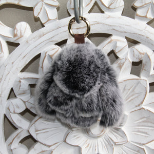 Keyrings - Rabbit - Black Snow