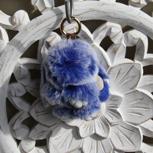 Keyrings - Rabbit - Blue Snow
