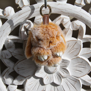 Keyrings - Rabbit - Brown Snow
