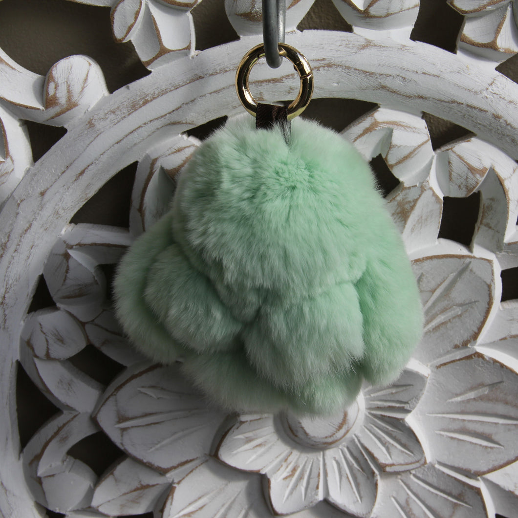Keyrings - Rabbit - Mint