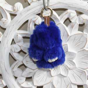 Keyrings - Rabbit - Royal Blue