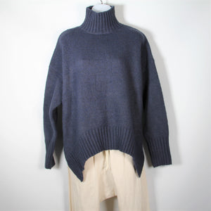 Knit Oversize Jumper Navy