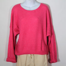 Load image into Gallery viewer, Jumper- Knit Wool Round Neck -Hot Pink