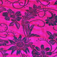 Load image into Gallery viewer, Scarf Pashmina - Hot Pink Flower