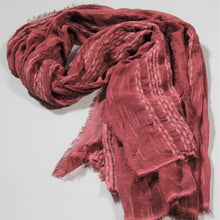 Load image into Gallery viewer, Scarf- Linen -Rose