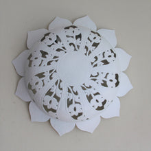Load image into Gallery viewer, Wall Light - Sun Flower Shape - Matte White