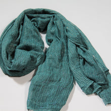 Load image into Gallery viewer, Scarf - Lurex - Sea Green