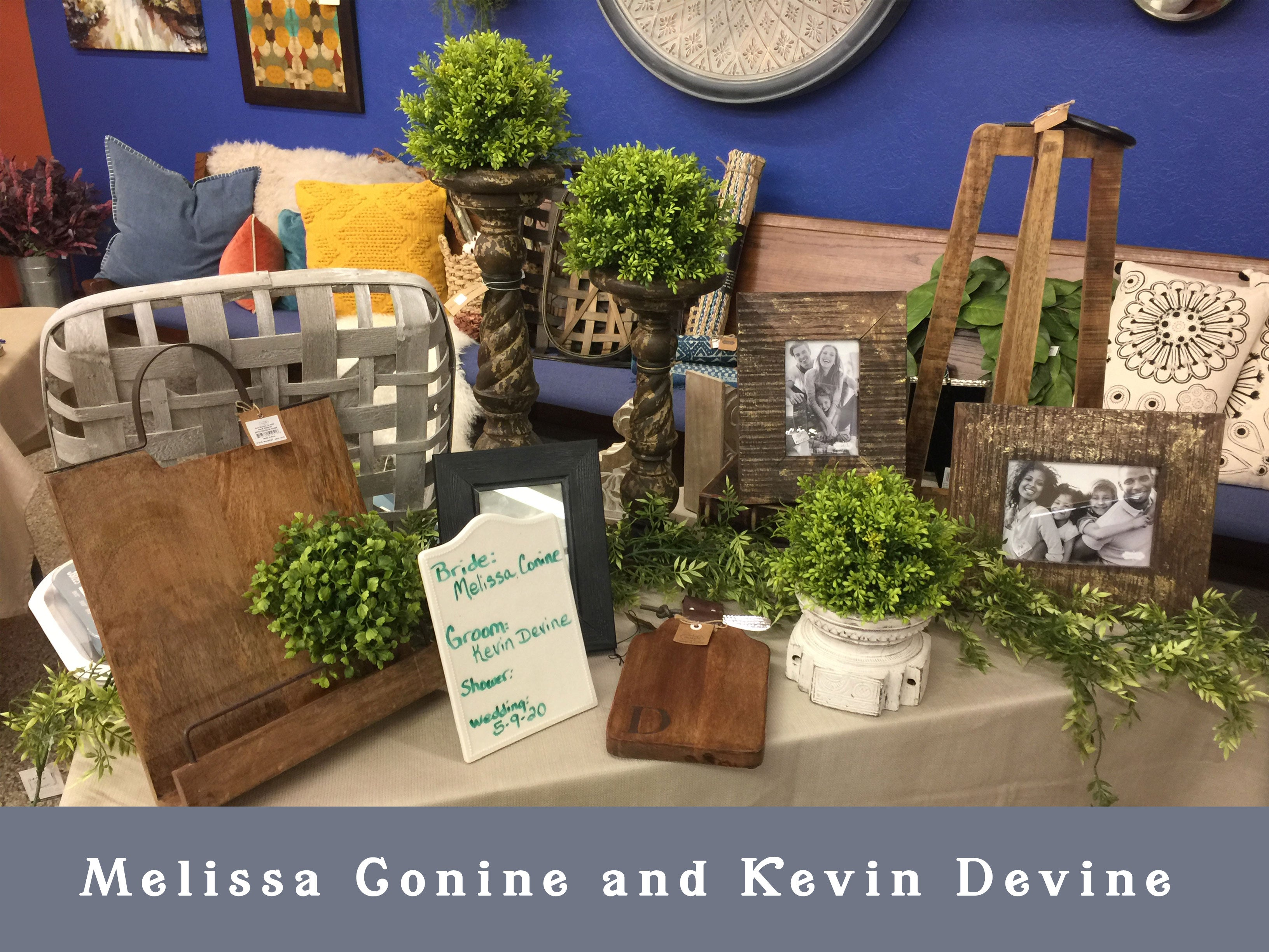 Melissa Conine and Kevin Devine