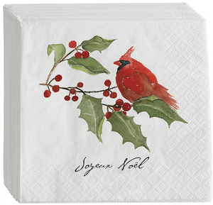 Cardinal Cocktail Napkins