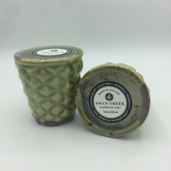 Summer Melon or Citrus Grove Scented Candle (6 oz)
