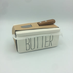 Bistro Butter Container with Knife