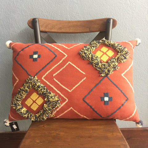 Red Cotton Pillow