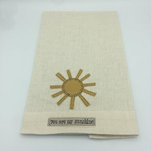 """You Are My Sunshine"" Kitchen Towel"