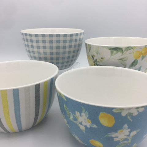 Lemon Bowls: Set of 4