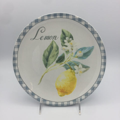 Lemon Plates: Set of 4