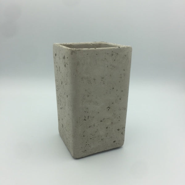 Concrete Planter: Short, Tall, Wide