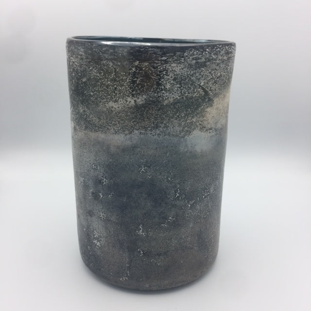 Blue/Gray Glass Vase