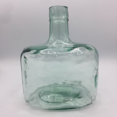 Glass Vase - Blue Tint