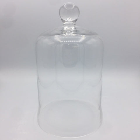 Clear Glass with Knob